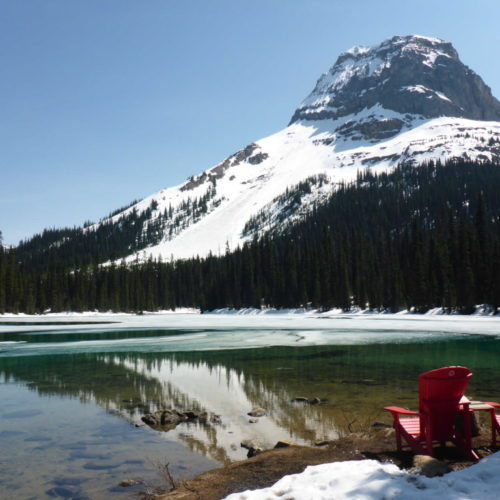 Yoho Lake - photo by Anna Powell @AnnasBanff