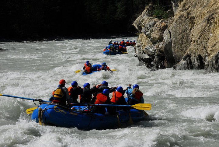 Rafting Kicking Horse - photo by Erin Tetley @Etetphotography