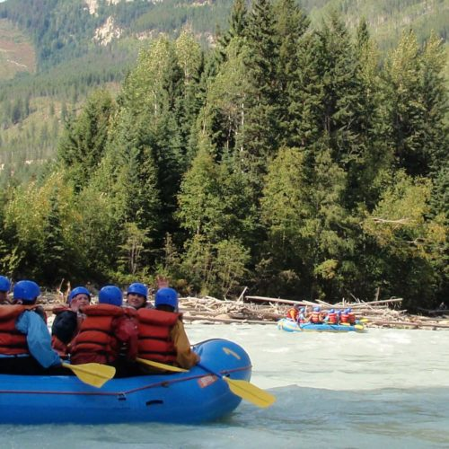 White Water on the Kicking Horse - Photo by Anna Powell @AnnasBanff