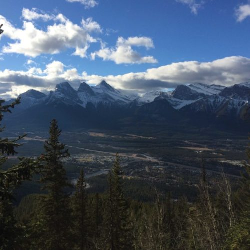 Three Sisters from Lady Mac - photo by @guidemebanff