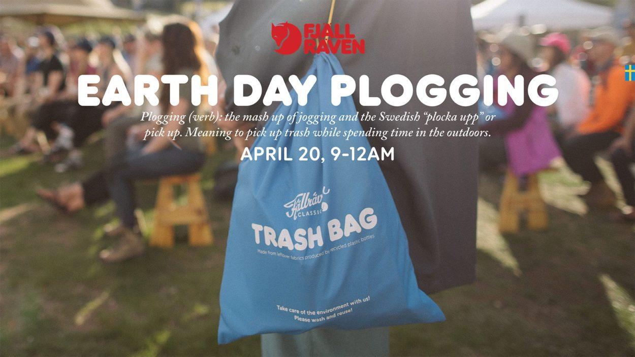 Fjällräven plogging event