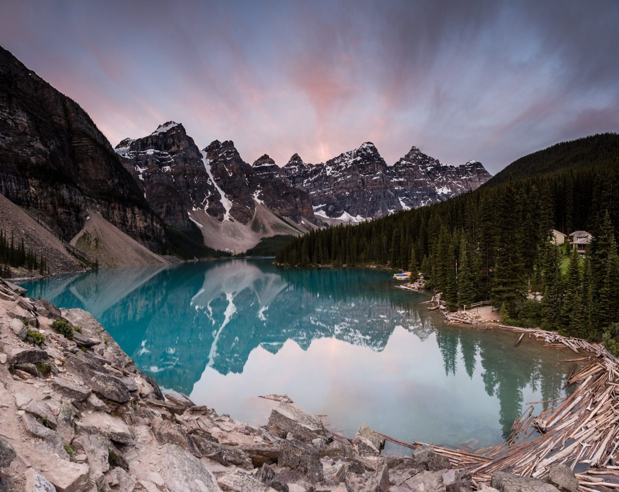 The Iconic Moraine Lake