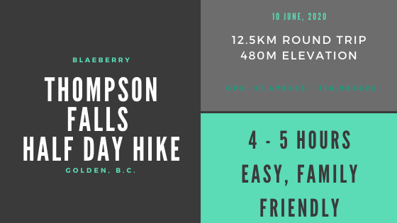 Thompson Falls infographic